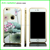 high quality anti-radiation custom printing waterproof aluminium mobile phone case