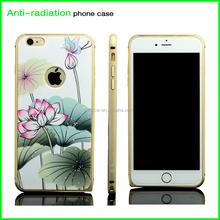 high quality anti-radiation custom printing waterproof aluminium mobile phone case