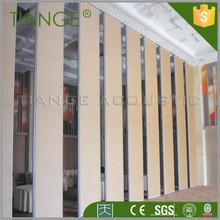 Hall interior design acoustic movable partitions