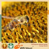 45kg barreled 100%pure sunflower honey for beverages