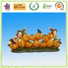 Resin craft wholesale artificial pumpkins/Craft Pumpkins for Harvest festival decorations