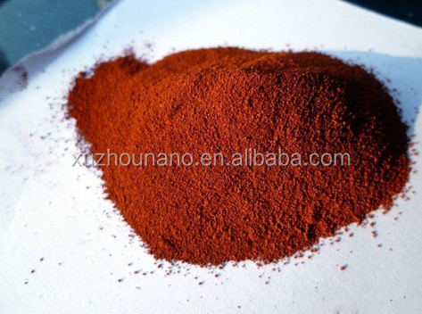 Red Ferric Oxide powder/ fe2o3 nanoparticle / iron oxide powder price