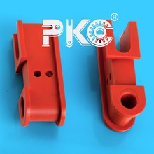 High precison Mould injected OEM plastic nylon Roller Support Series Manufacturer best quality low price