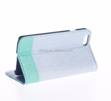 High quality cell custom debossed pu leather mobile phone case for iphone 6