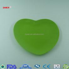 "hot selling 8"" melamine heart shaped Shallow dish"