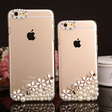 Mobile Phone Ultra Thin Hard Crystal Cover for iPhone 6 Slim Diamond Case