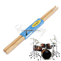 One Pair Practical Maple Wood 7A Drum Sticks Jazz Drumsticks Music Band tool Accessories