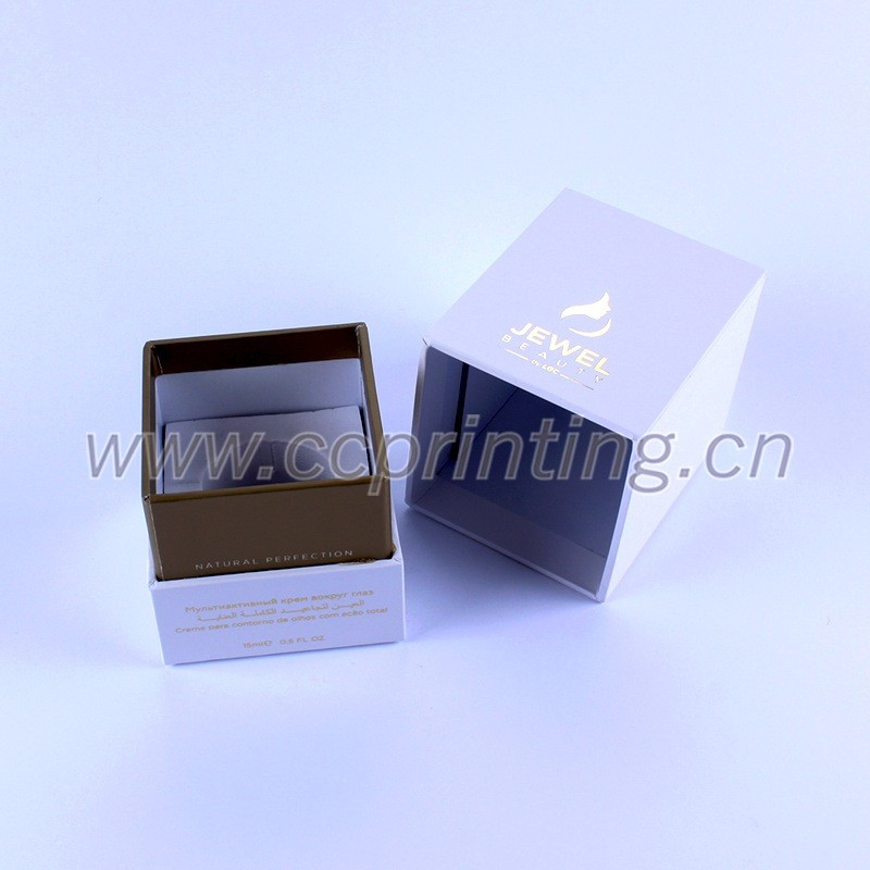 White color Cardboard Cosmetic box with divider for Jars (3).jpg
