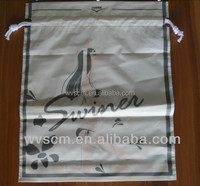 plastic with your logo,corn plastic string,biodegradable drawstring grocery bags