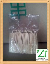 2015 fashionable Raw material fruit pick skewer stick made of good quality sanitary bamboo