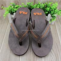 Man Leather Slipper Sandal
