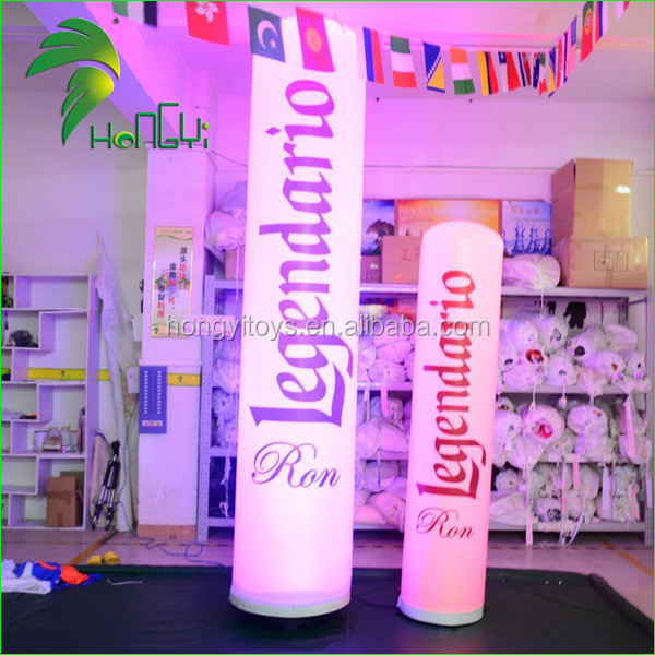 inflatable led lamp post (2)