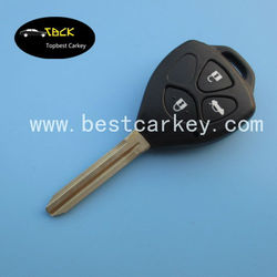 High quality 3 buttons 315mhz 4D67chip remote key for toyota smart key for toyota carola key for cars toyota japan