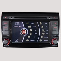 7'' touch screen Car DVD player with GPS for Fiat Bravo Bluetooth USB Supporting original amplifier & front camera