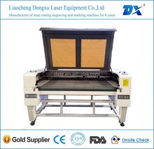 DX-1610s water cooling auto feed 2 heads high speed laser cutting machine