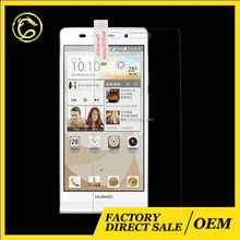 tempered glass screen protector for huawei ascend p6,skin cover for huawei ascend p6