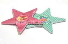 Wholesale Best quality Sublimation printable Polymer star Ornament