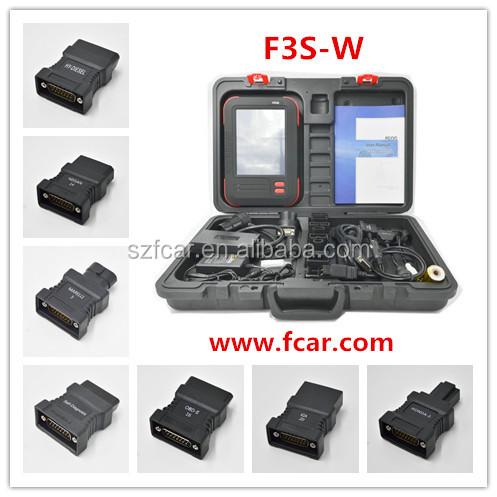 키 프로그래밍, 테스트 실린더 DPF 기능, Abs 배기, Srs, Tpms, FCAR F3S-W 자동 스캐너