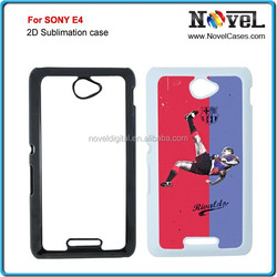Sublimation Plastic Phone Case For Sony E4