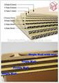 Mejores ventas de cartón corrugado / de pared simple de cartón corrugado / doble pared de cartón corrugado