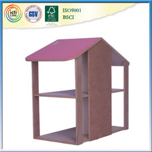 Russian prefabricated house wooden favorite play house baby room