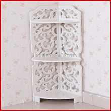 2015 china factory interior decoration modern wholesale factory direct art deco office furniture decorative corner shelf