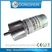 DS-33RS395 long life expectancy 33mm diameter gearbox 12v dc geared motor