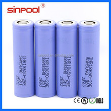 Samsung 18650 INR18650 2900mah 29E lithium ion car 18650 battery for electric unicycle