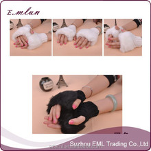 2015 wholesale women acrylic personalized winter gloves