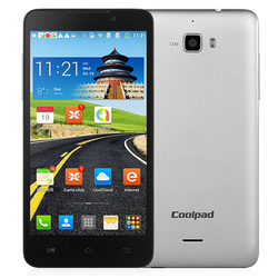 "Hot Selling Coolpad F1 Octa Core Mobile Phone 5.0""1280*720P 2500 mAh Android 4.2 Mtk 6592 Octa Core 1.7Ghz 2GB+8GB Dual Sim Card"