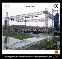 aluminum light circle truss for stage