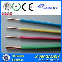 14AWG TW/THW electric cable 600V Bare Conductor ACSS/TW pvc insulated wire with 185mm Pvc coated Wire Cable 10mm,6mm,4mm,2.5mm