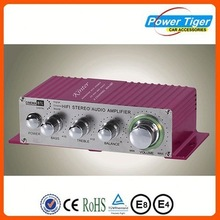 Best selling car bass tube with amplifier