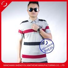 2015 high quality custom pique mens polo t-shirt wholesale
