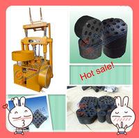white charcoal briquette making machine/coal briquette press machine