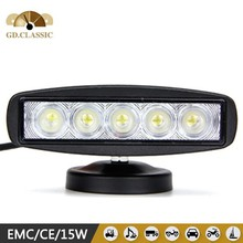 For chevrolet cruze 15w led work light KR6151 accessories 12v led working light 6 inch super bright led work light