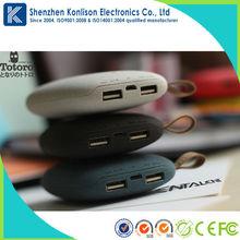 5200mah/8000mah/10400mah portable power bank for promotion