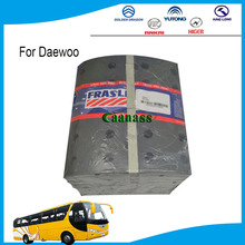 one-stop purchasing auto spare parts frasle non asbestos brake lining daewoo bus parts