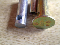 Steel screw thread rebar splicing sleeve screw threaded rebar sleeve made in china ferrule sleeve