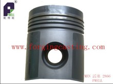 competive price mini type forged steel piston for 2866