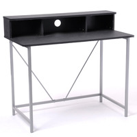 Black Office/Computer desk(stocked at Germany)
