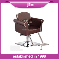 2015 new product luxury stainless steel barber styling chair beauty salon furniture