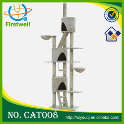 Top sale cat condo toys with sisal/cat tree