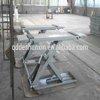 Large Platform Proper electric car lift scissor used for hydraulic car jack lift