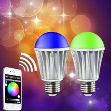 WiFi Smart LED Lighting Series! Music Alarm Group WiFi LED Bulb,WiFi RGB LED Bulb,WiFi Smart LED Light Bulb