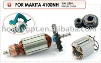 Electric Power Tool Spare Parts Spares Accessories Armature Stator Rotor Field Coil Gear Sets for Makita 4100NH