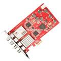 Tbs6905 dvb-s2 sintonizador de quad tarjeta de pcie
