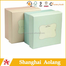 2014 fashion paper christmas gift pack for soap