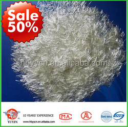 Hot sale China supplier of glass Fiber waste chopped strands for cement reinforcement