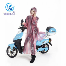 Hot sale clear plastic rain coats / riding raincoat for sale